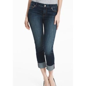 WHBM The Slim Crop Jeans Size 2